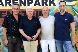 Thomas Barth, Peter Weck, Wolfgang Wehner, Christoph Petschina